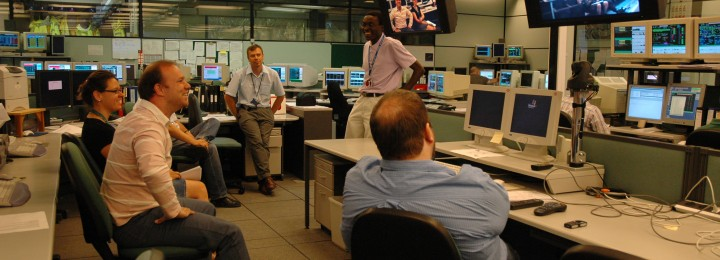 In the JET controlroom