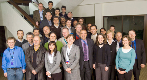 picture of Fusion Technology group members - December 2009