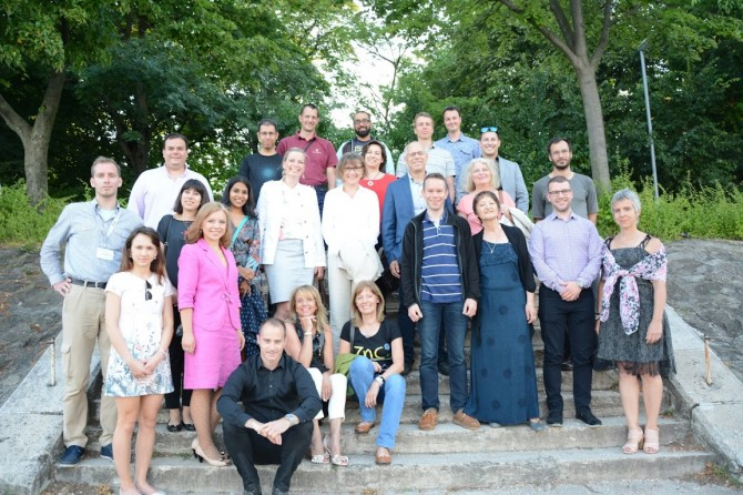 The FuseCOM network at their 2016 meeting in Budapest.