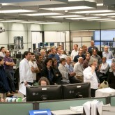 picture of the JET Control Room at first plasma after shutdown 2011