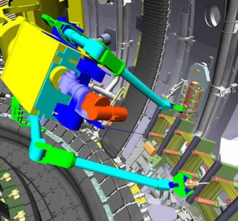 picture of simulation of the installation of TAE