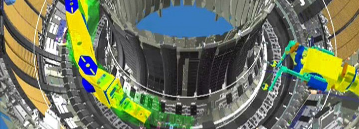 virtual picture of remote handling