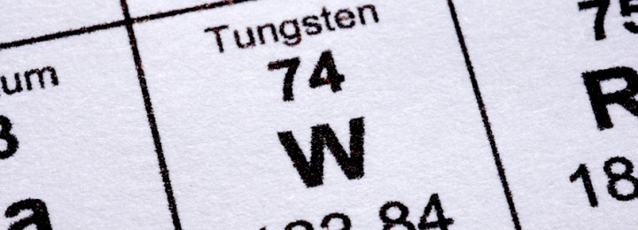 Tungsten eurofusion picture of tungsten in periodic table urtaz Choice Image