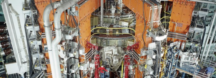 picture of Construction of the JET machine
