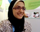Azza Faiad, prizewinner of 2011 European Union Contest for Young Scientists