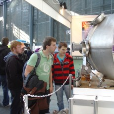 picture of visitors at AMPER 2011