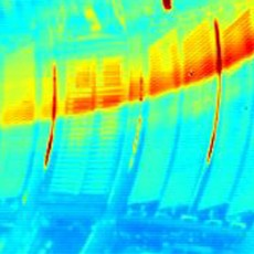 infrared view into JET vessel