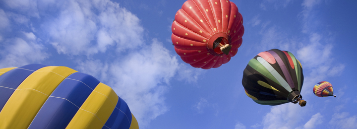 picture of hot-air ballons