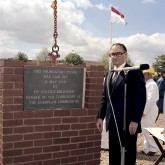 picture of Foundation Stone Ceremony of JET