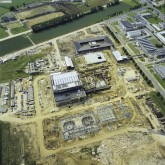 picture of Aerial photo of construction site