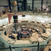 picture of Flywheel Generator construction