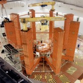 picture of Construction of JET's transformer core