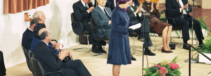 JET's official opening by Her Majesty Queen Elizabeth II