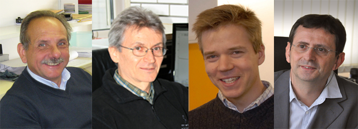 picture of New Heads of Research Units March 2012