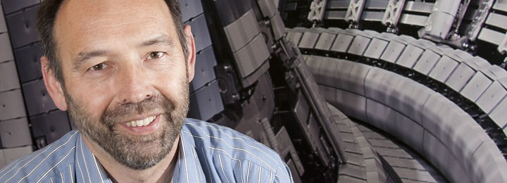 Rudolf Neu, the new Leader of the EFDA ITER Physics Department - May 2012