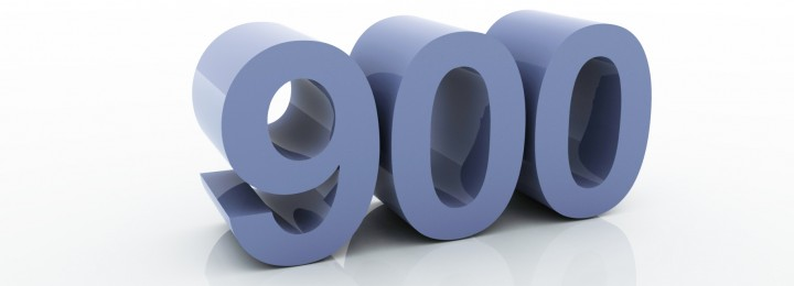 Number of the Week 900
