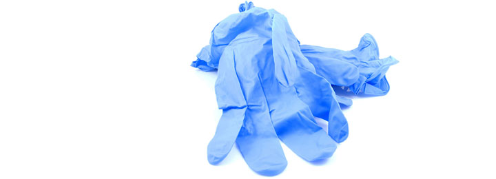 illustrative picture of rubber gloves