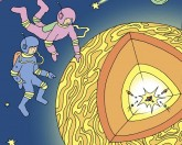 Mystery of the sun - kids book on fusion