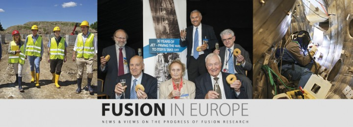 Cover montage for Fusion in Europe July 13