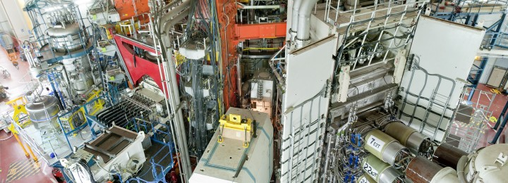 picture of JET Fusion Experiment