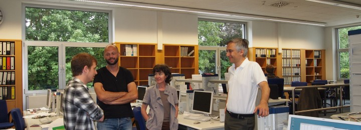 From left: Philip Schneider, Marc Beurskens, Pascale Hennequin and Piero Martin
