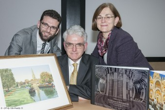 A family of scientists: Giovanni with his parents Francesco Romanelli and Paola Batistoni