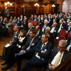The launch of EUROfusion was celebrated in the heart of the European Quarter, the Solvay Library.