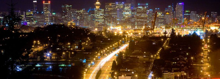 City lights.  Picture Source: By Kenny Louie from Vancouver, Canada [CC BY 2.0 (http://creativecommons.org/licenses/by/2.0)], via Wikimedia Commons