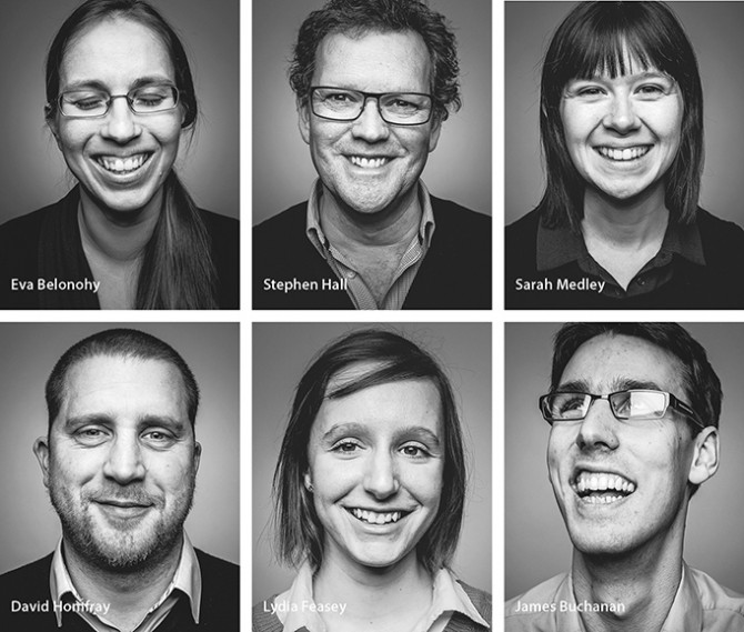 Photographs of fusion scientists taken for the exhibition 'Making Sun on Earth'. (Pictures: CCFE)