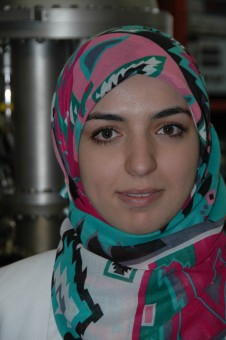 Marwa Ben Yaala (25) is a Tunisian PhD student studying at the University of Basel. Her work on plasma-facing components is funded by a EUROfusion engineering grant. Marwa speaks Arabic, French, English and German and has completed a diploma in engineering and a master in material science at the European Engineering School of Chemistry, Poly - mers and Materials Science in Strasbourg. Before she started her PhD, she was a scientific assistant at the Fraunhofer Institute for Organic Electronics, Electron Beam and Plasma Technology FEP in Dresden. Her university is linked to the Swiss partner of the EUROfusion Consortium, the École Polytechnique Fédérale de Lausanne. (Picture: private)