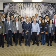 A Chinese delegation paid a visit to the European Joint Torus (JET). The scientists are interested in remote handling and the deuterium-tritium performance. (Image: Rebecca Muir/EUROfusion)