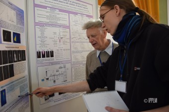 During the poster session at the International Conference on Plasma and Applications in Poland. (Images: IPPLM)