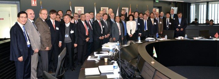 Members of the ITER Council on the 17th meeting in November 2015. Picture: ITER Organization