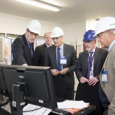 ITER Director-General Bernard Bigot at Culham's new Materials Research Facility. Picture: EUROfusion