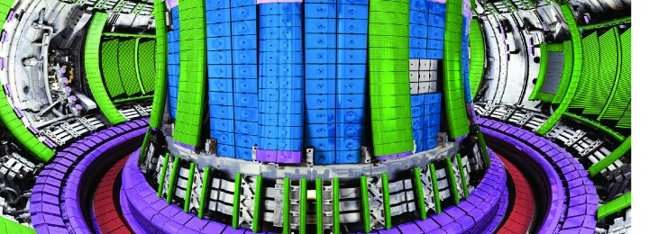 JET is equipped with an ITER-like plasma facing wall, tungsten divertor and beryllium wall.