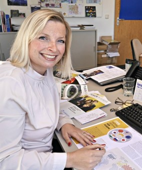 Anne Purschwitz, Editor of Fusion in Europe. Picture: EUROfusion