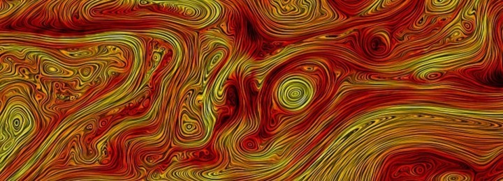 "Plasma turbulence in Solar wind. Picture: The image was produced in conjunction with the article ""Coherent structures, intermittent turbulence, and dissipation in high-temperature plasmas"" (H. Karimabadi et al.; in Physics of Plasmas 20/2013). The work is not related to the Transport Task Force."
