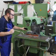 Belal Khattab working on one of the machines. Pictures: EUROfusion