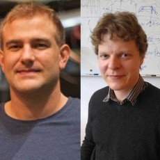 Gergely Papp and Antti Snicker take part in the EUROfusion fellow programme. Pictures: IPP/EUROfusion